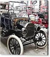 Vintage Ford Vehicle Canvas Print