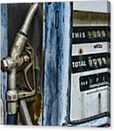 Vintage Gas Pump 2 Canvas Print