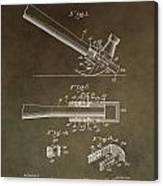 Vintage Hammer Patent Canvas Print