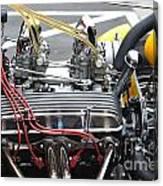 Vintage Hotrod Engine Canvas Print
