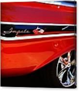Vintage Impala Canvas Print