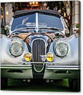 Vintage Jaguar -0924c Canvas Print