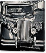 Vintage Jaguar 1950s Canvas Print