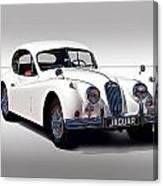 Vintage Jaguar Coupe Canvas Print