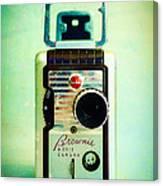 Vintage Kodak Brownie Movie Camera Canvas Print