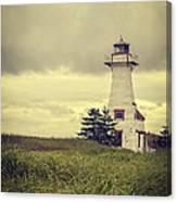 Vintage Lighthouse Pei Canvas Print