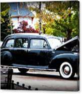 Vintage Lincoln Limo II Canvas Print