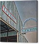 Vintage Livery Canvas Print