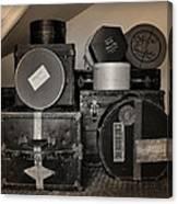 Vintage Luggage Canvas Print