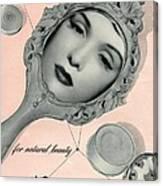 Vintage Make Up Advert Canvas Print