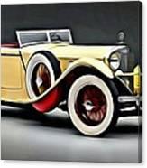Vintage Mercedes Convertible Canvas Print