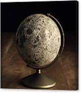 Vintage Moon Globe Canvas Print