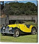 Vintage Morgan Roadster Canvas Print