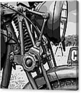 Vintage Motorcycle Canvas Print