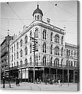 Vintage New Orleans 4 Canvas Print