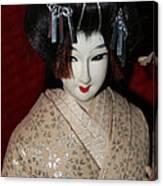 Vintage Nishi Doll Canvas Print