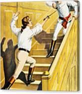 Vintage Nostalgic Poster - 8005 Canvas Print