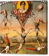 Vintage Nostalgic Poster - 8029 Canvas Print