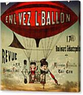Vintage Nostalgic Poster - 8030 Canvas Print