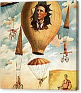 Vintage Nostalgic Poster - 8036 Canvas Print