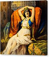 Vintage Nostalgic Poster - 8037 Canvas Print