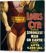 Vintage Nostalgic Poster 8061 Canvas Print
