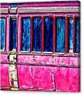 Vintage Passenger Carriage Canvas Print