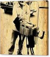 Vintage Photographer Tintype Canvas Print
