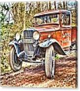 Vintage Pickup Truck Canvas Print