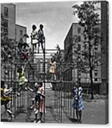 Vintage Playground Canvas Print