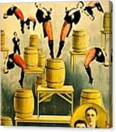 Vintage Poster - Circus - Ringling Bros Canvas Print