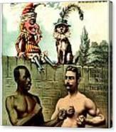Vintage Poster - Plug Tobacco Canvas Print