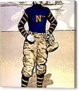 Vintage Poster - Naval Academy Midshipman Canvas Print