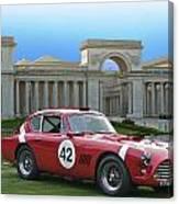 Vintage Race Car No. 42 Canvas Print
