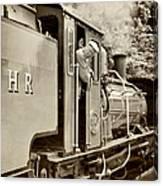 Vintage Railway Canvas Print