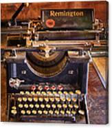 Vintage Remington Typewriter  Canvas Print