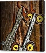 Vintage Roller Skates 5 Canvas Print