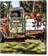 Vintage Rusty Old Truck 1940 Canvas Print