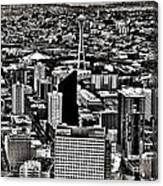 Vintage Seattle Canvas Print