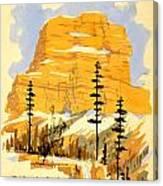 Vintage See America Travel Poster Canvas Print