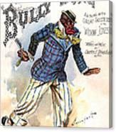 Vintage Sheet Music Cover 1896 Canvas Print