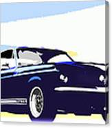 Vintage Shelby Gt500 Canvas Print