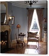 Vintage Sitting Room Canvas Print