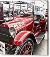 Vintage Studebaker Fire Engine Canvas Print