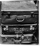 Vintage Suitcases Canvas Print