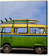 Vintage Surf Van Canvas Print