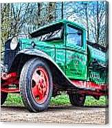 Vintage Tanker 1 Canvas Print