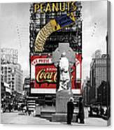 Vintage Times Square 1 Canvas Print