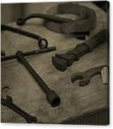 Vintage Tools Canvas Print