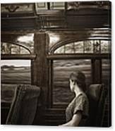 Vintage Travels Canvas Print